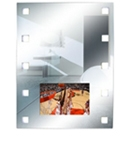 WaterProof Mirror LCD 1300 15